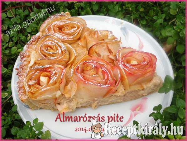 Almarózsás pite