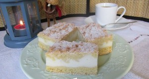 Joghurtkrémes sütemény Tündi konyhájából
