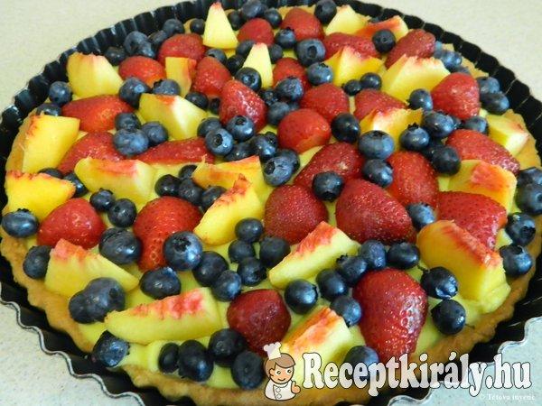 Olasz gyümölcsös pite-Crostata di frutta