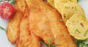 Paprikás lisztben sült hekk filé